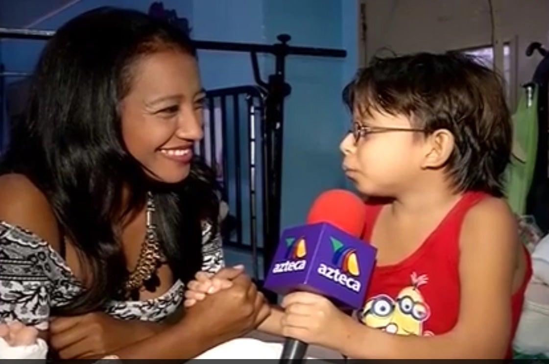 """""""Niño de Oro"""": Marlon Yasir sale de hospital y agradece a los hondureños (VIDEO)"""