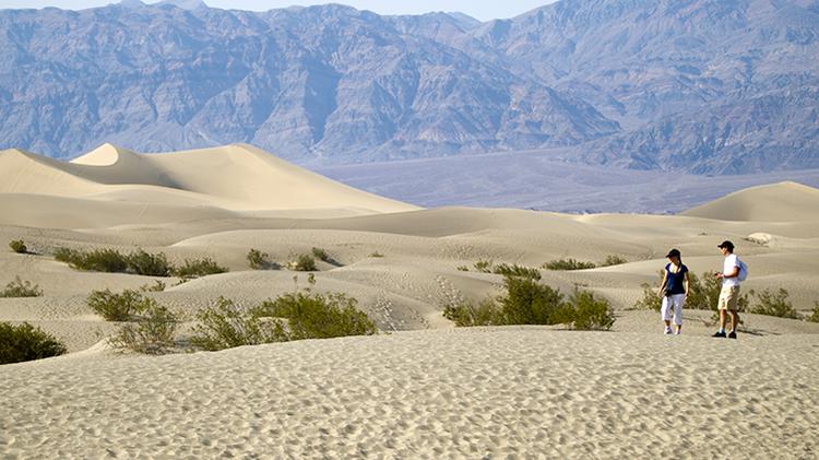 Descubren que un desierto de EEUU emite 'gemidos escalofriantes'