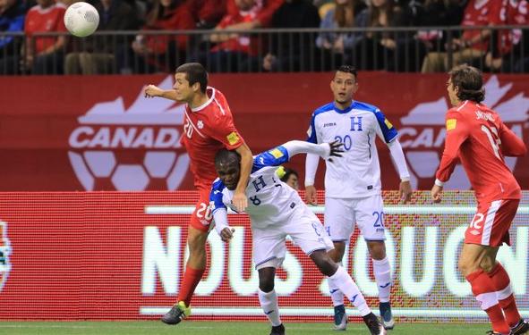 Honduras cae en el inicio de la eliminatoria ante Canadá
