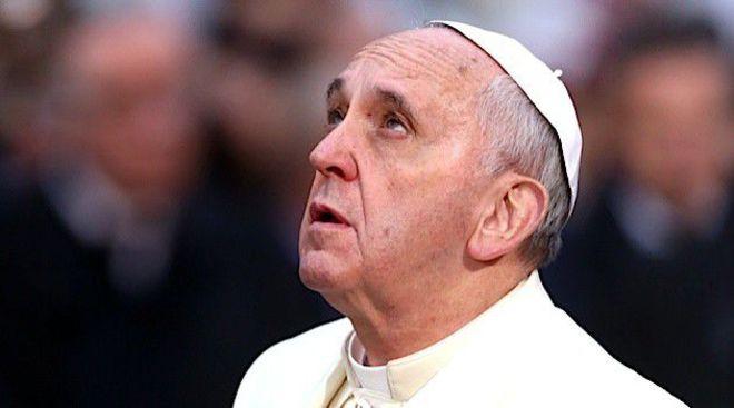 """El Papa Francisco: """"La Navidad que está llegando será una farsa"""""""