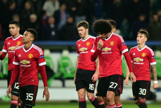 Manchester United eliminado de la Champions League