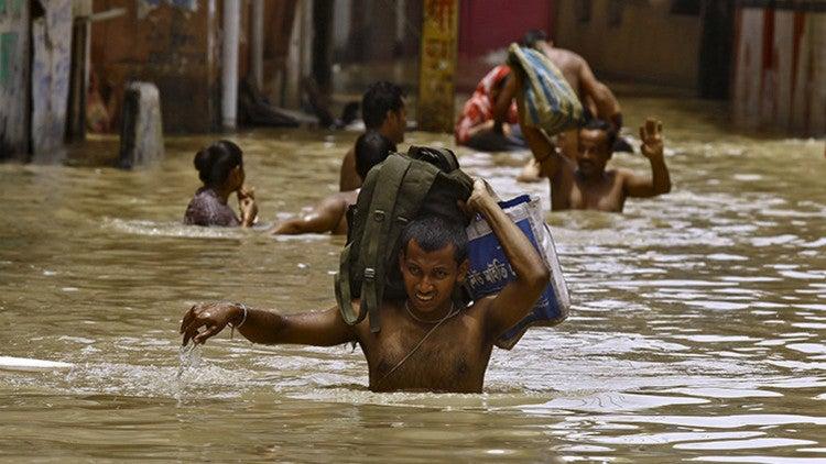 El peor desastre natural del siglo: Lluvias torrenciales devastan el sur de India