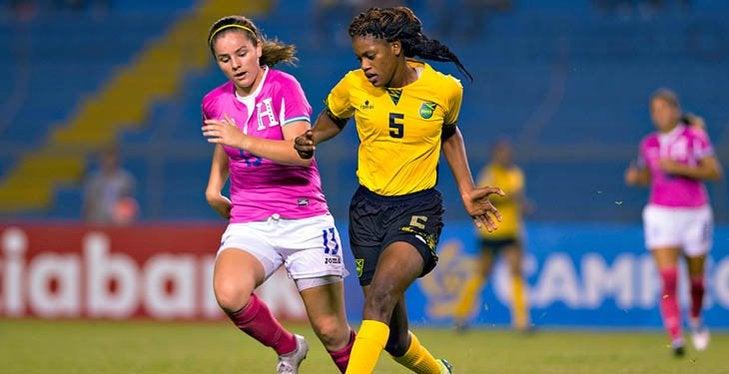 La Sub-20 femenina de Honduras empata en debut ante Jamaica