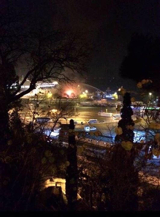 Turquía: Varias explosiones sacuden el puerto de Haydarpasa en Estambul