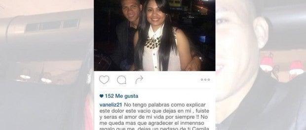 Esposa de Arnold Peralta postea conmovedor mensaje en Instagram