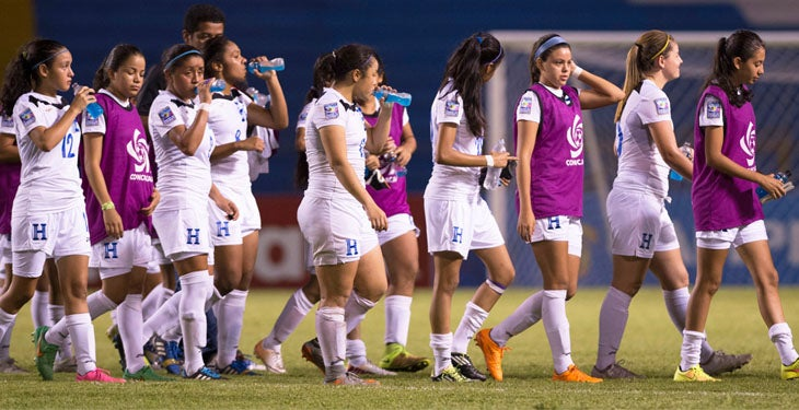 Selección femenina sub20 de Honduras no pudo conseguir el boleto del mundial