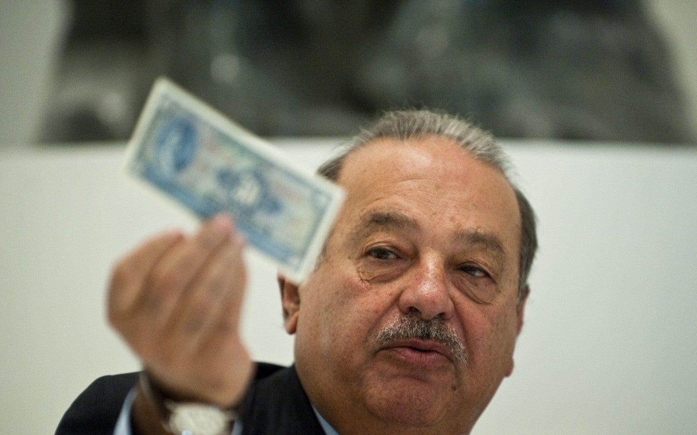 Magnate mexicano pierde en 2015 el equivalente al PIB de Honduras