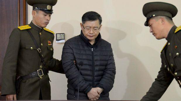 Corea del Norte sentencia a pastor a cadena perpetua