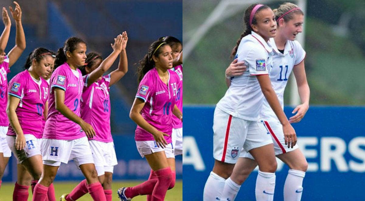 Honduras jugará ante USA las semifinales femenino sub 20