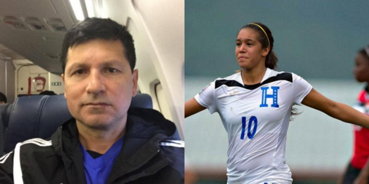 Alex Pineda está contento por rendimiento de Elexa Bahr en selección femenina de Honduras