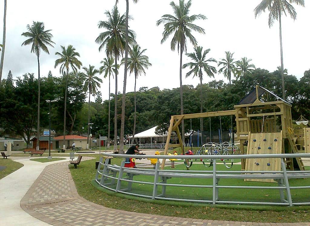 Inauguran nuevo espacio recreativo en la capital de Honduras