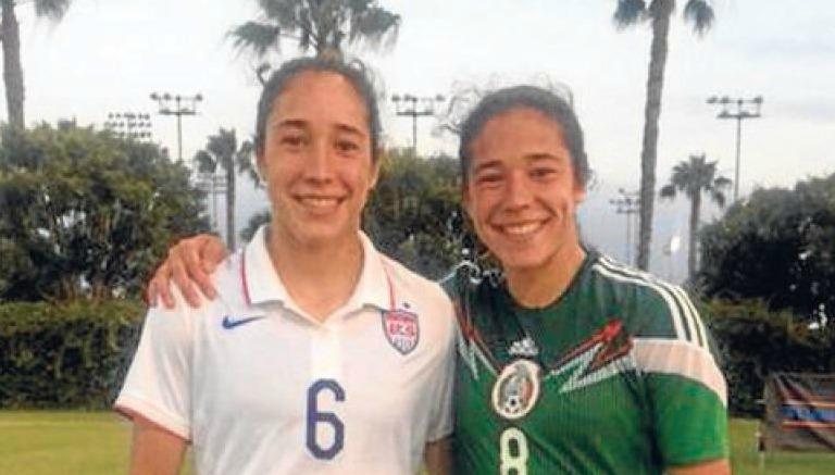 Gemelas juegan para selecciones diferentes en premundial femenino sub 20