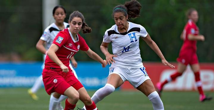 Selección de Honduras cae ante Canadá, pero se clasifica a semifinales