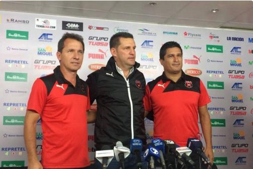 Javier Delgado es el nuevo técnico del Alajuelense de Costa Rica
