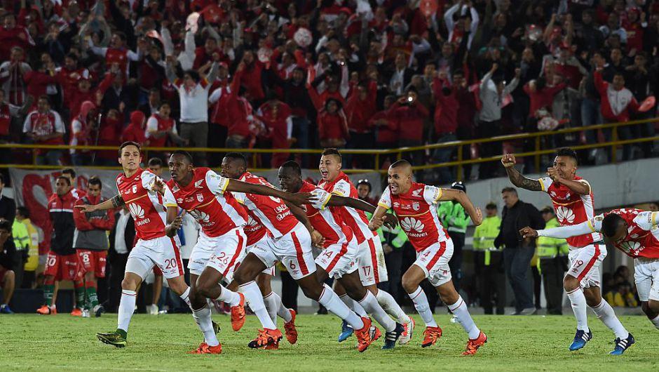 Independiente Santa Fe campeón de la Copa Sudamericana