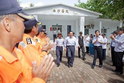 Presidente de Taiwán reafirma soberanía sobre la isla Taiping