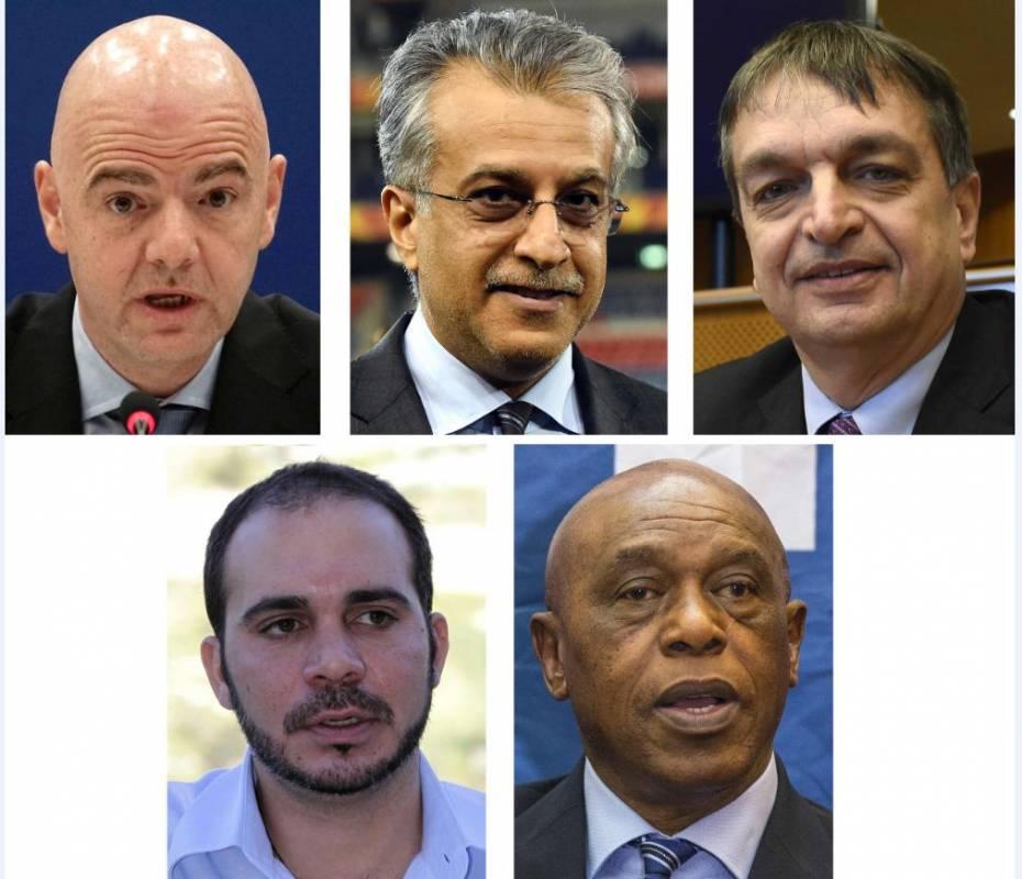 FIFA confirma a los cinco candidatos a reemplazar a Blatter