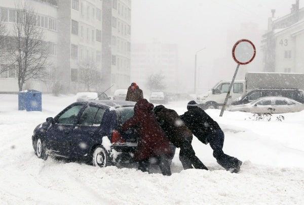 Al menos 200 muertos por el frío en Hungría y Polonia