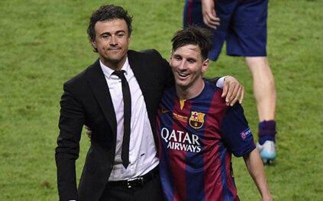 Messi el mejor cerebro del 2015 y Luis Enrique mejor técnico por la IFFHS