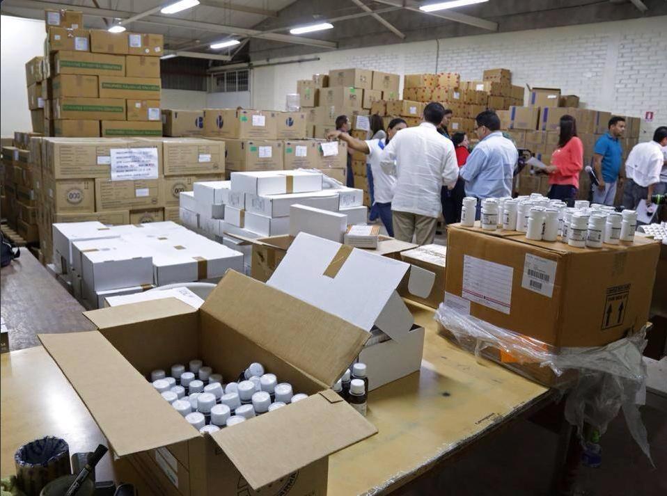 MP identifica a los propietarios de los medicamentos encontrados en una bodega