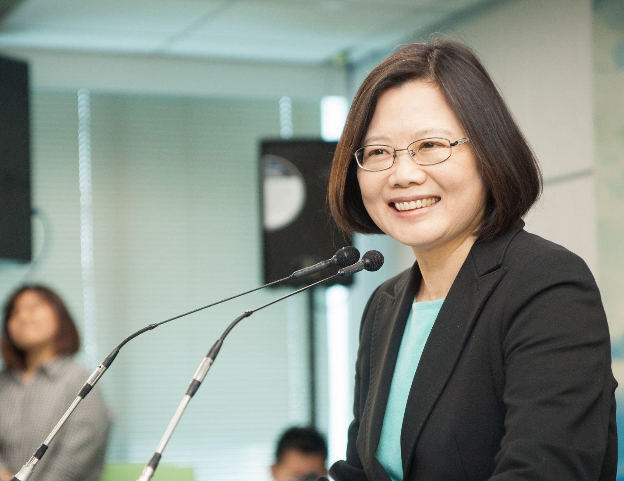 Tsai Ing-wen, electa presidenta de Taiwán