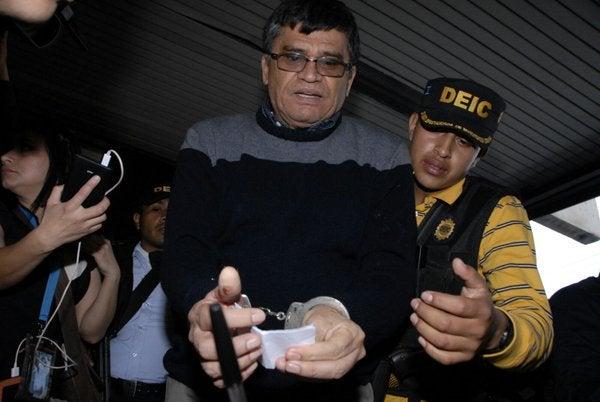 Capturan al exalcalde guatemalteco Arnoldo Medrano