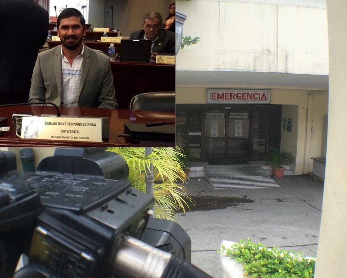Autoridades confirman que policía hirió a diputado hondureño