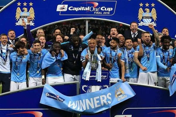 Manchester City se coronó campeón de la Capital One al vencer al Liverpool