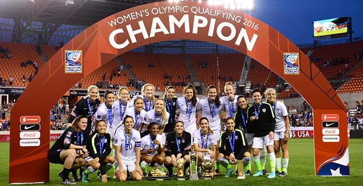 Estados Unidos se corona campeón del preolímpico femenino