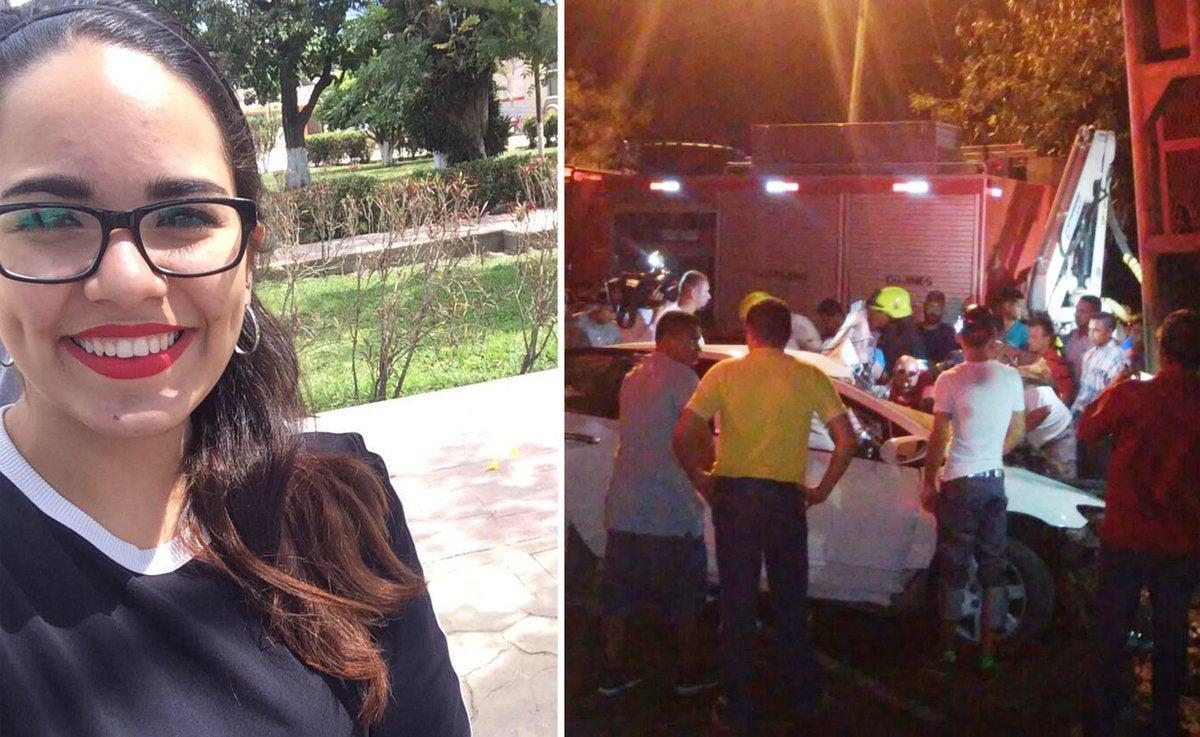 Yoro: Joven universitaria está viva de milagro tras sufrir accidente