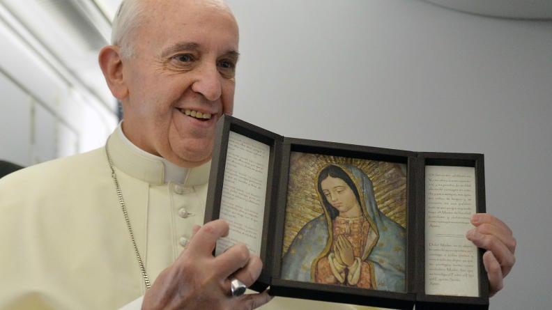 Arroz, pollo, fruta, y dulces comerá el Papa en Morelia