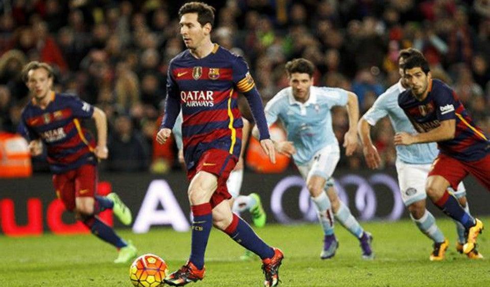 Vídeo: Jugadores africanos imitan penal indirecto de Lionel Messi