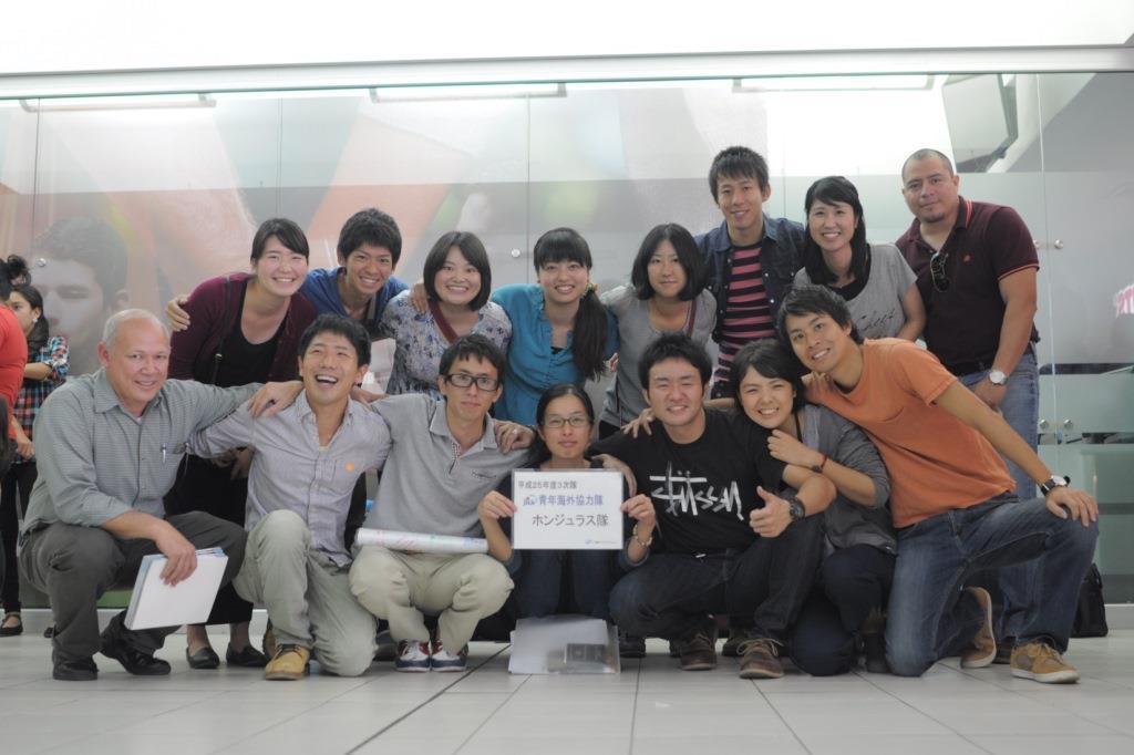 Voluntarios japoneses terminan misión en Honduras
