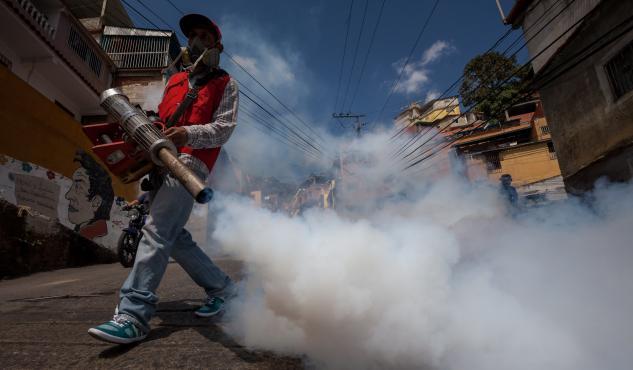 Intervención contra el zika en el sector nor-oeste de El Progreso