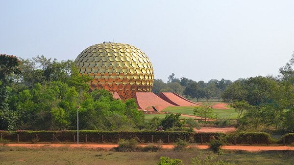 India: Auroville, la ciudad más extraña del mundo