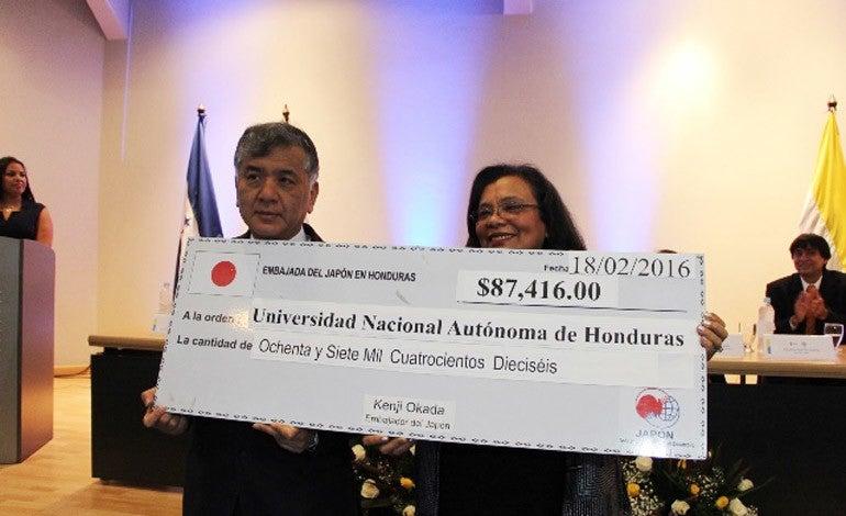 Embajada de Japón financiará instalación de Centro Tecnológico multimedia de la UNAH