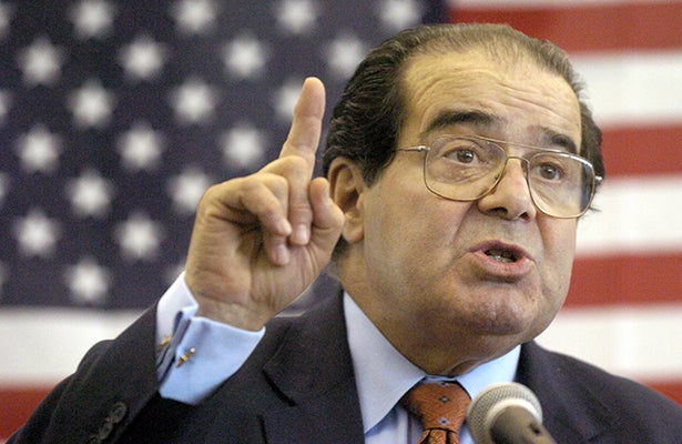 Muere Antonin Scalia, magistrado de la Corte Suprema de Justicia de EE.UU
