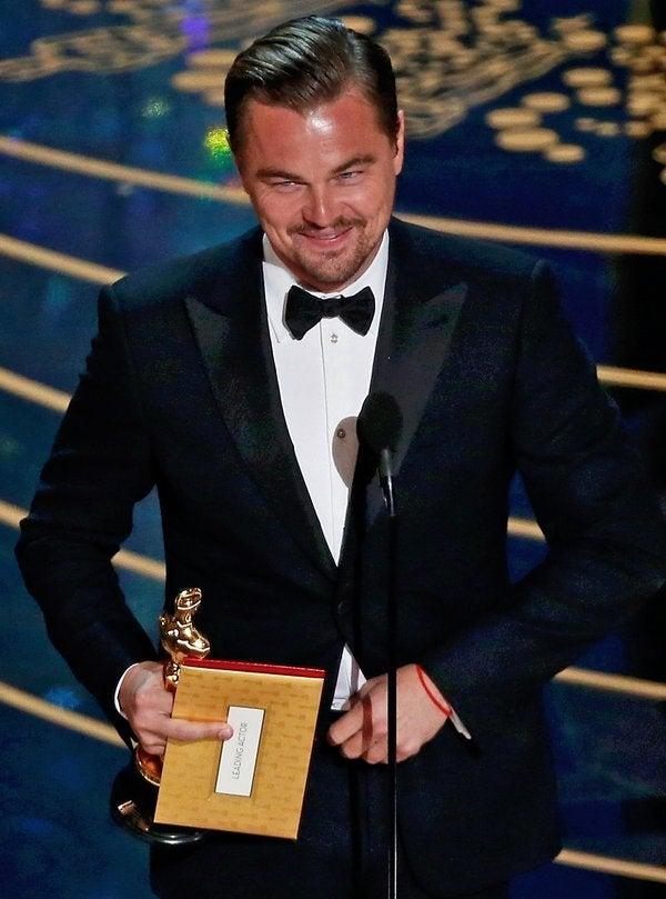 ¡Y lo logró! Leonardo DiCaprio ganó su primer Oscar