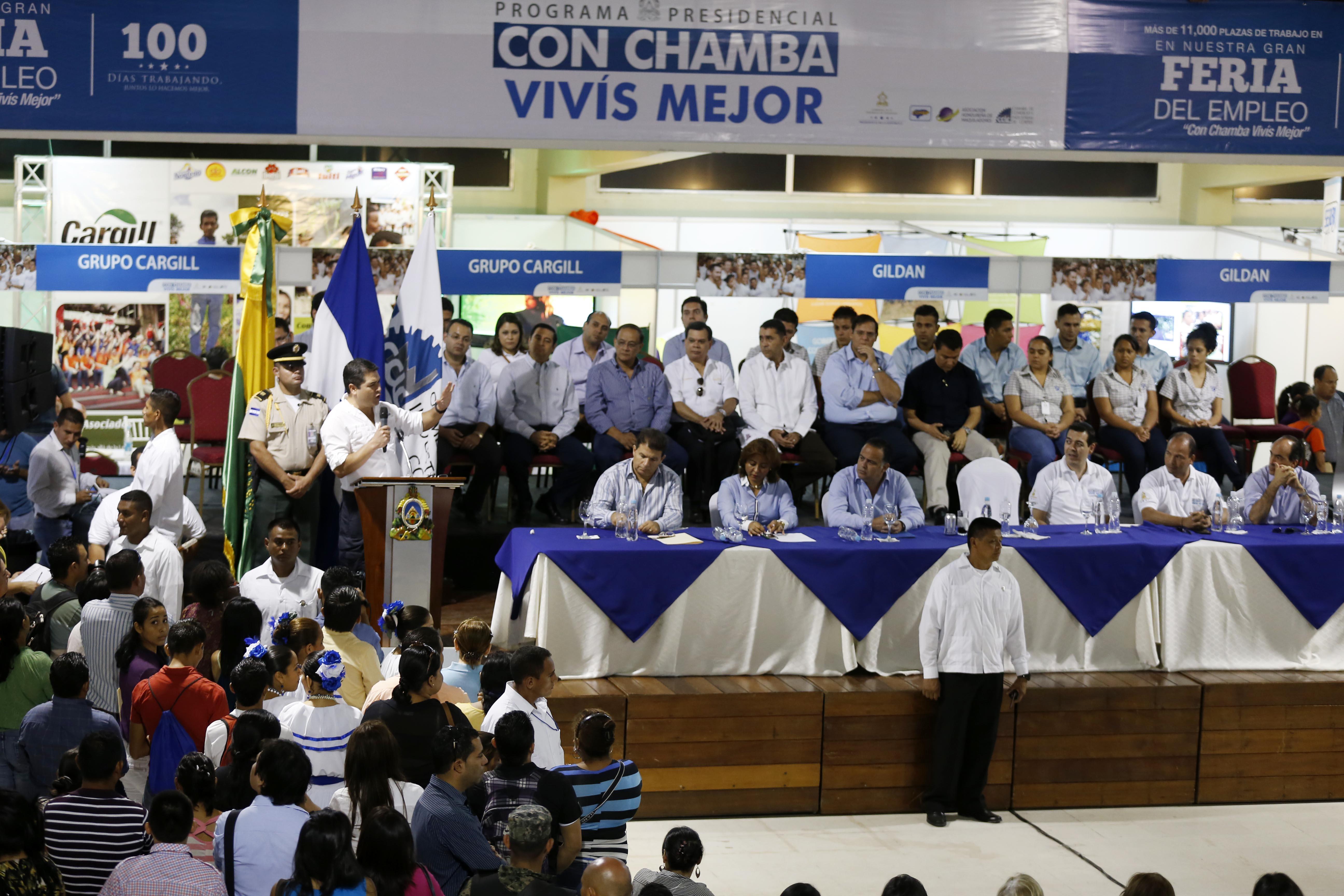 Tegucigalpa: Abren feria de empleo para ubicar a unas 200 personas