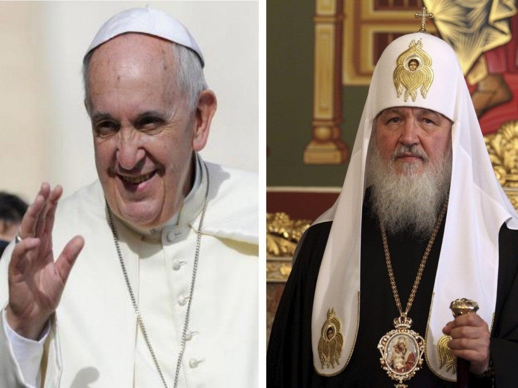 Cruzarán sus caminos en La Habana el Papa Francisco y el Patriarca Kirill