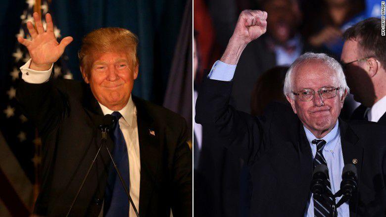 Resultados en Nueva Hampshire: ganan Trump y Sanders; Kasich da la sorpresa