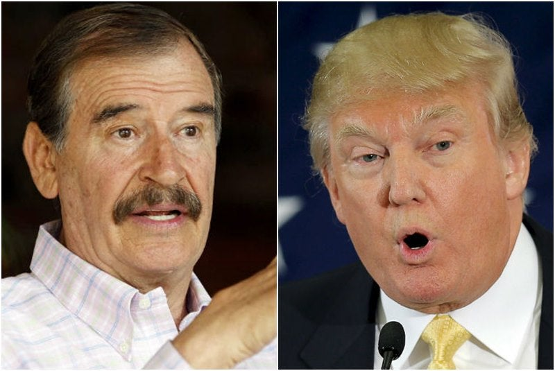 """Expresidente Fox sobre propuesta de Trump: """"No voy a pagar por ese jodido muro"""