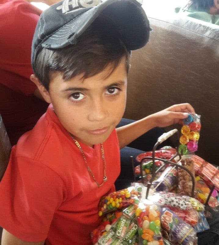 La pobreza detrás de un pequeño vendedor en Honduras