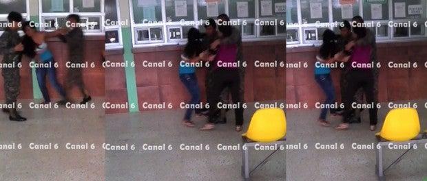 VÍDEO: Mujeres protagonizan pelea dentro de Hospital Catarino Rivas