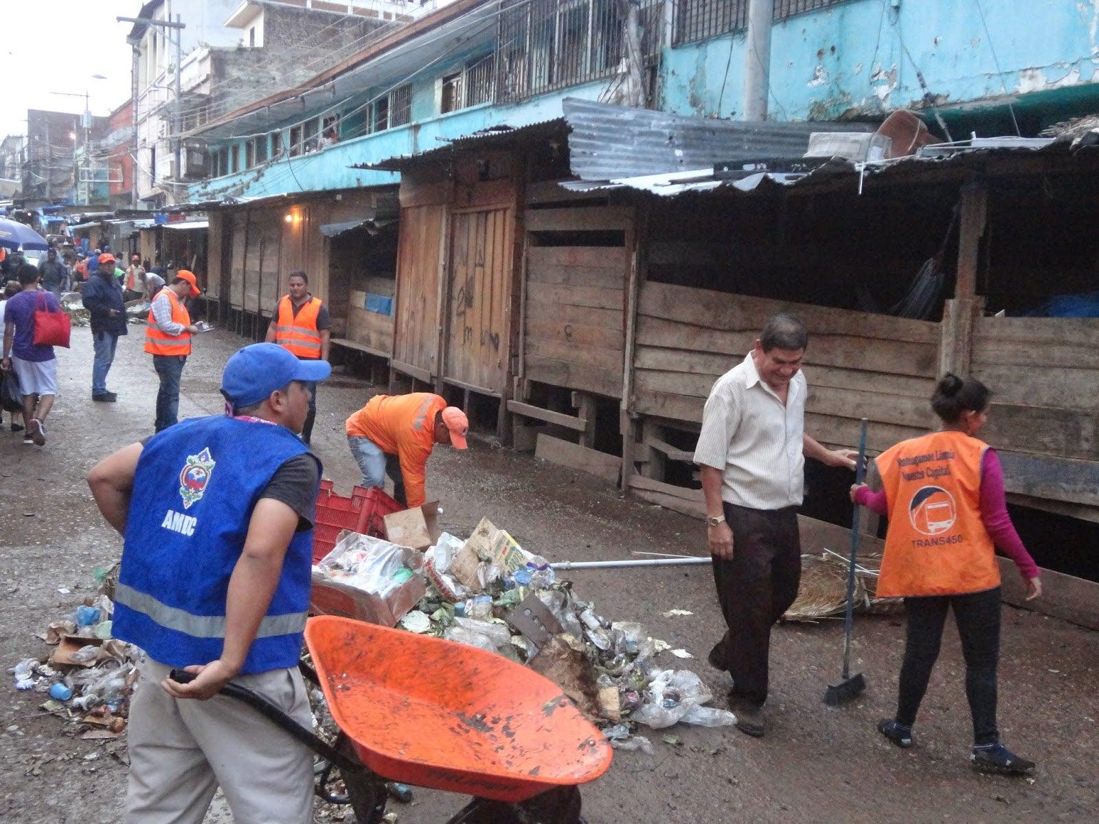 Alcaldía capitalina recogió al menos 10 toneladas de basura durante la Semana Santa