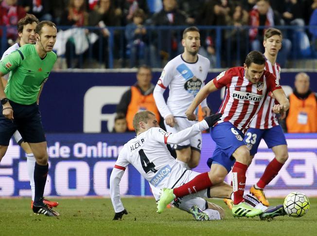 Liga BBVA: El Atlético de Madrid venció 3-0 al Deportivo, sin sobresaltos