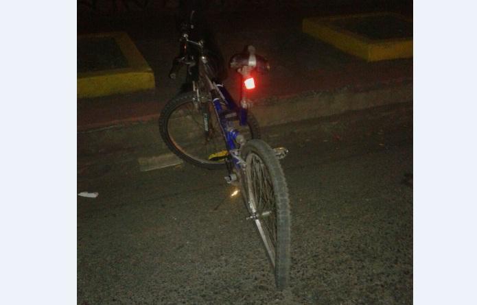 Conductor de «rapidito» atropella a ciclista en Tegucigalpa