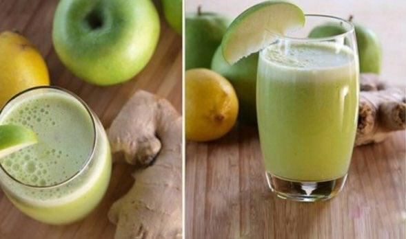 Médicos recomiendan jugo de manzana verde para los pulmones