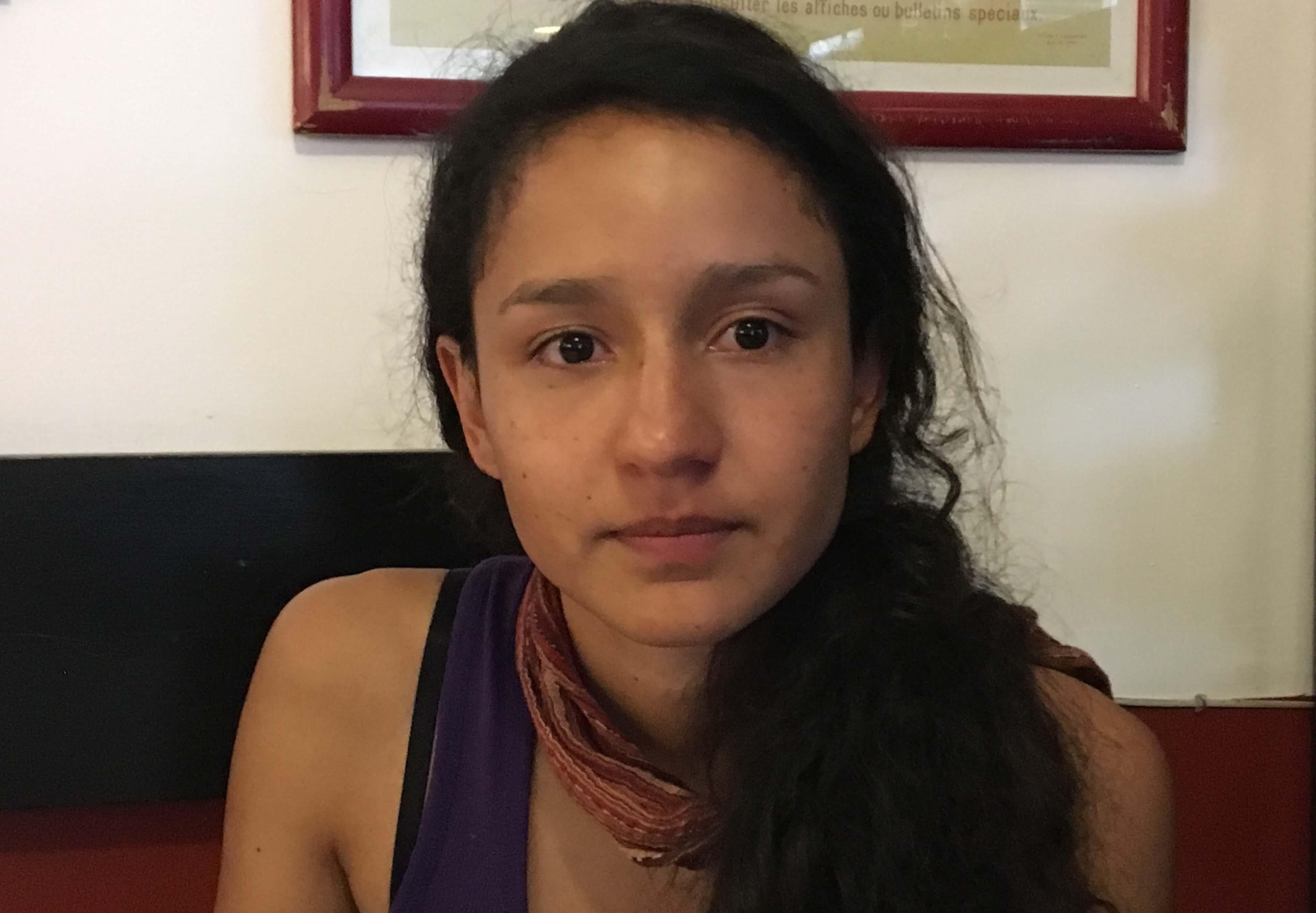 """""""Exijo frenar los homicidios y los proyectos eléctricos de muerte en Honduras"""""""