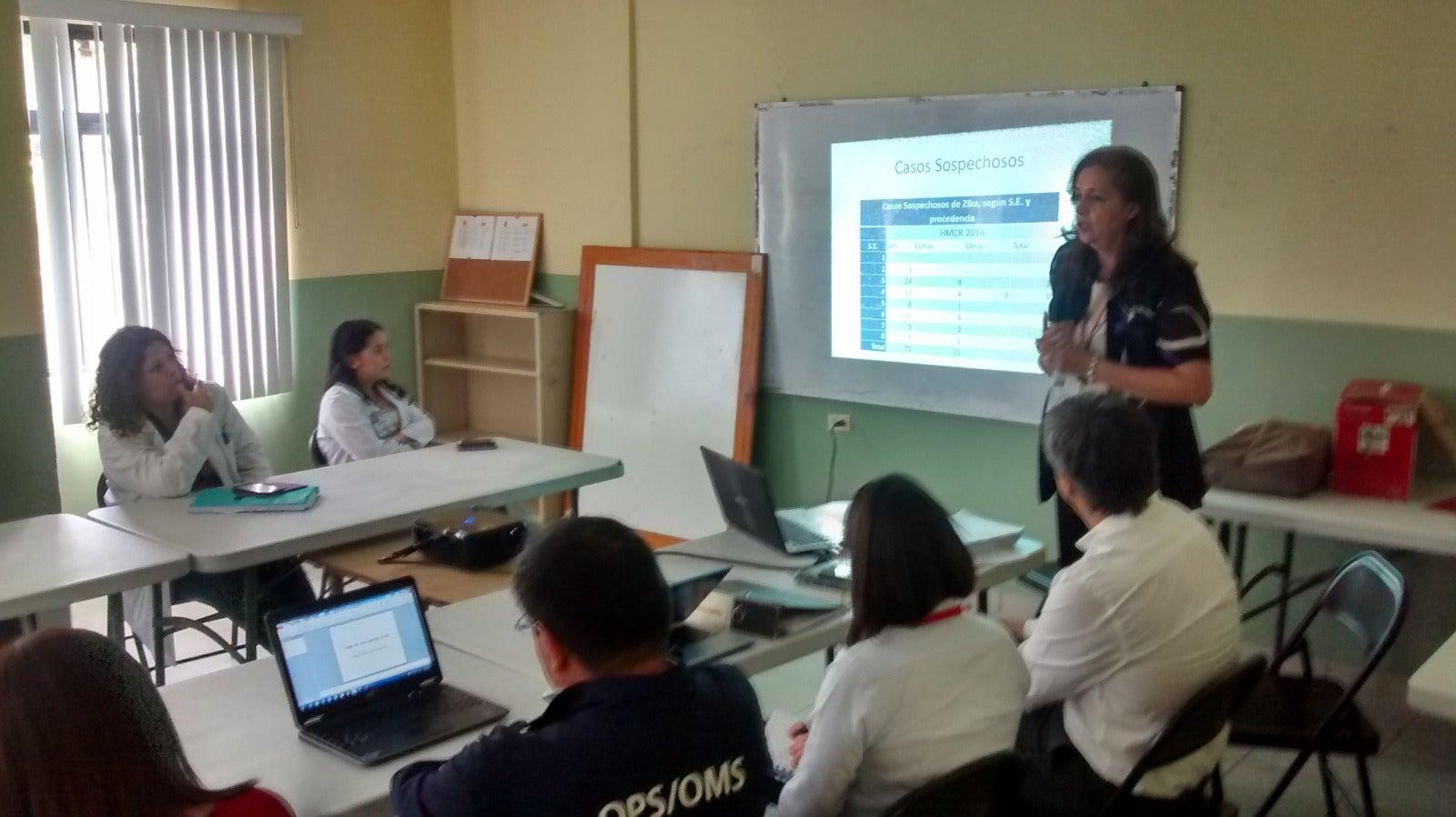 Capacitan personal de salud en el manejo de pacientes con zika asociado con Guillain Barré